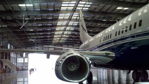 Jet Aviation Hangar 25 BUR