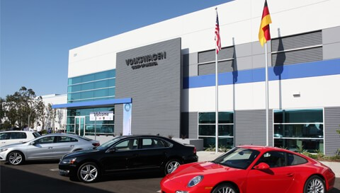 VW Emissions Control & Vehicle Testing Lab