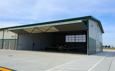 Blue Grass Airport Architectural Award for New Westside Hangars