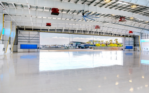 LAX Gets First Corporate Aircraft Hangar