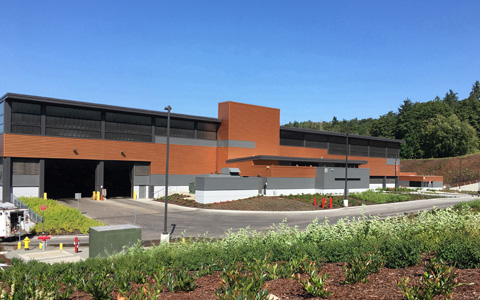 Washington's King County Dedicates Transfer Station
